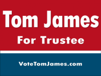 Tom James for Trustee